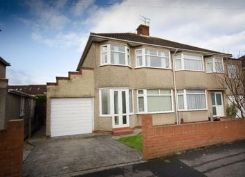 Thumbnail 3 bed semi-detached house for sale in Wedgewood Road, Downend, Bristol