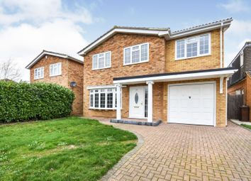 Thumbnail 5 bed detached house for sale in The Chase, Chelmsford