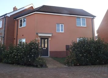 Thumbnail 3 bed property to rent in Hornbeam Drive, Dereham
