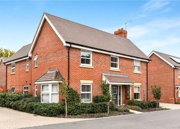Thumbnail 4 bed detached house for sale in Grant Drive, Church Crookham, Fleet