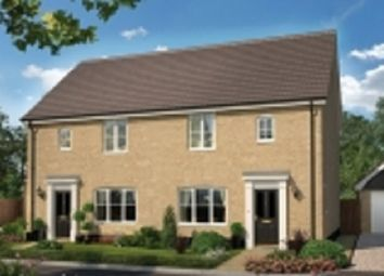 Thumbnail 3 bed semi-detached house for sale in Nursery Lane, South Wootton, Norfolk