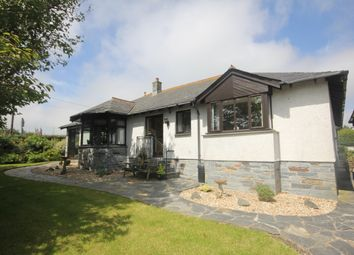 Thumbnail 3 bed detached bungalow for sale in Little Petherick, Wadebridge
