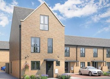 Thumbnail 3 bed town house for sale in The Davey At Atelier, Keaton Way, Off Commonside Road, Harlow, Essex