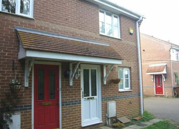Thumbnail 2 bed semi-detached house to rent in Shorefields, Rainham, Gillingham