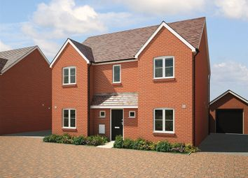 "Thumbnail 4 bed detached house for sale in ""The Cartmel"" at Fogwell Road, Botley, Oxford"