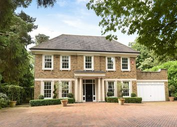 Thumbnail 6 bedroom detached house for sale in Granville Close, St. Georges Hill, Weybridge