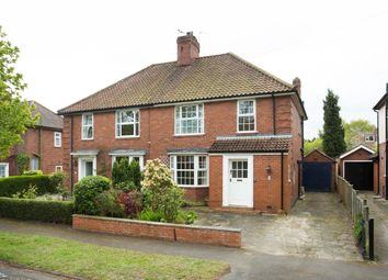 Thumbnail 3 bed semi-detached house for sale in Fellbrook Avenue, Acomb, York
