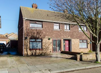Thumbnail 3 bed semi-detached house for sale in Tennyson Walk, Northfleet, Gravesend