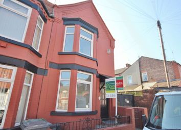 Thumbnail 3 bed terraced house for sale in Highfield Grove, Rock Ferry, Wirral
