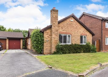 Thumbnail 3 bedroom detached bungalow for sale in Woodcroft Close, Penwortham, Preston, Lancashire