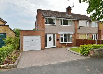 Thumbnail 3 bed semi-detached house for sale in Bideford Avenue, Stafford