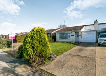 Thumbnail 3 bed semi-detached bungalow for sale in Partridge Close, Great Oakley, Harwich