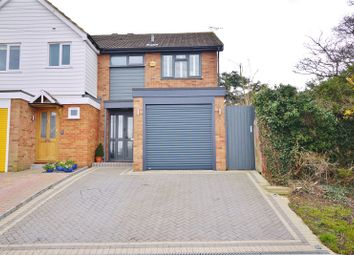 Thumbnail 3 bed semi-detached house for sale in Southall Way, Brentwood, Essex