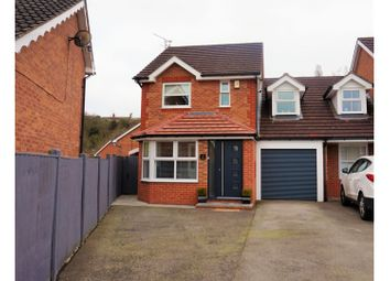 Thumbnail 3 bed link-detached house for sale in St. Chads Close, Mansfield