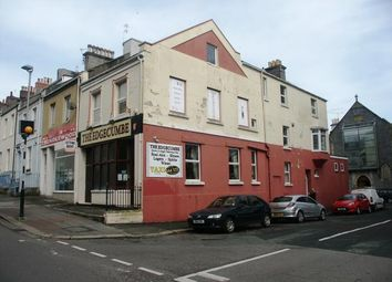 Thumbnail Pub/bar for sale in Edgcumbe Hotel, Molesworth Road, Stoke, Plymouth