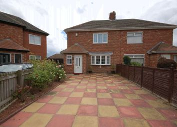 Thumbnail 2 bedroom semi-detached house for sale in Cresswell Avenue, Forest Hall, Newcastle Upon Tyne