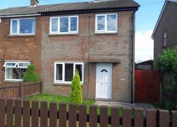 Thumbnail 2 bed semi-detached house to rent in Ferndene Walk, Birstall, Batley