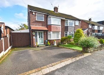 Thumbnail 3 bed semi-detached house for sale in Gillbent Road, Cheadle Hulme, Cheadle