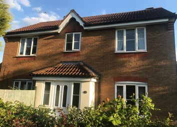 Thumbnail 3 bed detached house for sale in Attenborough Close, Thorpe Astley, Leics