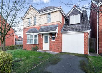 Thumbnail 4 bedroom detached house for sale in Unitt Drive, Cradley Heath