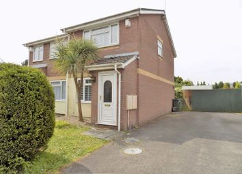 Thumbnail 2 bedroom semi-detached house for sale in Powderham Drive, Cardiff