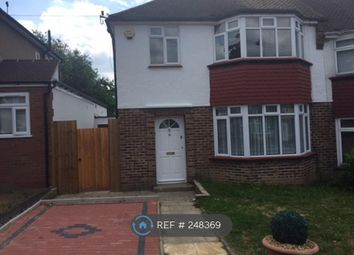 Thumbnail 3 bedroom semi-detached house to rent in Linthorpe Road, Barnet