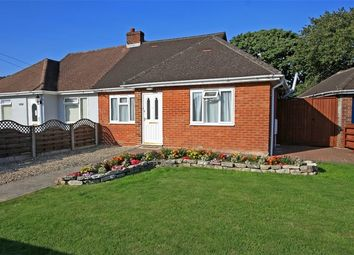 Thumbnail 2 bed semi-detached bungalow for sale in Mead Road, Pennington, Lymington, Hampshire