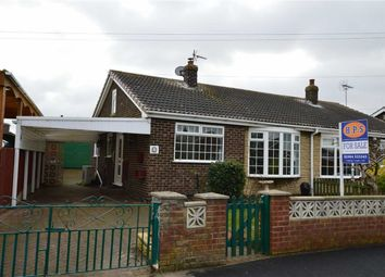 Thumbnail 2 bed semi-detached bungalow for sale in Castle View, Skipsea, East Yorkshire