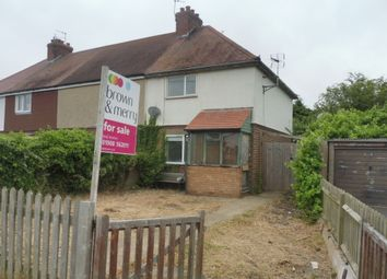 Thumbnail 2 bed end terrace house for sale in Folly Road, Deanshanger, Milton Keynes