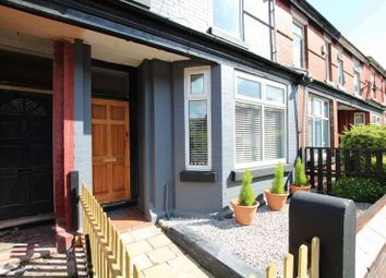 Thumbnail 3 bedroom terraced house for sale in Delamere Road, Levenshulme, Manchester