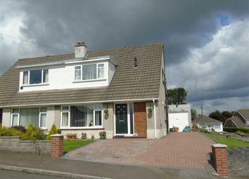 Thumbnail 3 bed semi-detached bungalow for sale in Cleviston Park, Llangennech, Llanelli