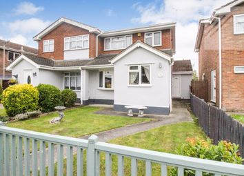 Thumbnail 3 bed semi-detached house for sale in Tantelen Road, Canvey Island