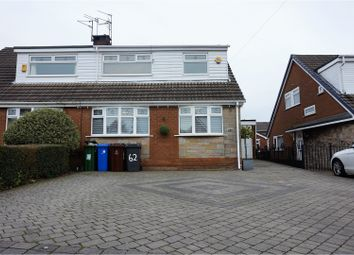 Thumbnail 4 bed semi-detached house for sale in Glenville Way, Manchester