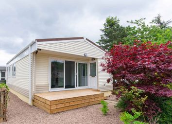 Thumbnail 2 bed mobile/park home for sale in Oak Avenue, Nivensknowe Park, Loanhead