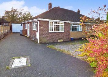Thumbnail 2 bed semi-detached bungalow for sale in Brook Villas, Talke Road, Talke, Stoke-On-Trent