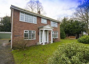 Thumbnail 3 bed detached house to rent in Betley Hall Gardens, Betley, Crewe