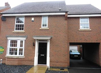 Thumbnail 4 bedroom detached house for sale in Garner Close, Barwell, Leicester