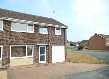 Thumbnail 4 bed semi-detached house for sale in Pawlett Close, Deeping St. James, Peterborough