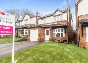 Thumbnail 3 bed detached house for sale in Amble Way, Trimdon Grange, Trimdon Station