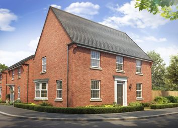"Thumbnail 4 bedroom detached house for sale in ""Cornell"" at Rush Lane, Market Drayton"