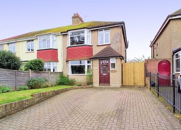 Thumbnail 3 bedroom semi-detached house for sale in Chichester Road, Bognor Regis