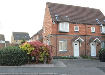 Thumbnail 1 bed semi-detached house to rent in Pasteur Drive, Harold Wood, Romford