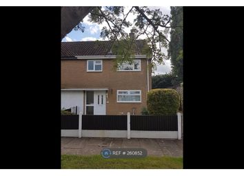 Thumbnail 3 bed end terrace house to rent in Tatton Close, Winsford