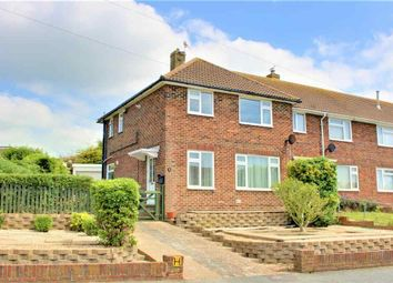 Thumbnail 3 bed semi-detached house to rent in Oakapple Road, Southwick, Brighton