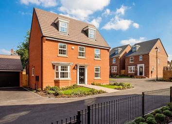 "Thumbnail 5 bed detached house for sale in ""Emerson"" at Warkton Lane, Barton Seagrave, Kettering"