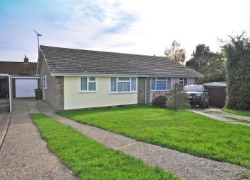 Thumbnail 2 bed semi-detached bungalow for sale in Fairlawns Drive, Herstmonceux, Hailsham