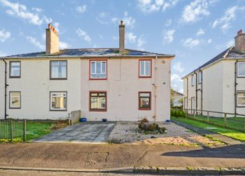 Thumbnail 2 bedroom flat for sale in Dirrans Terrace, Kilwinning