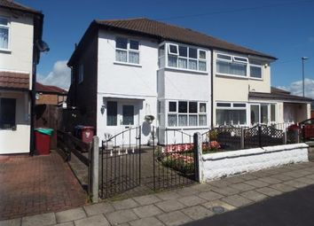 Thumbnail 3 bed semi-detached house for sale in Hilary Avenue, Liverpool, Merseyside, England