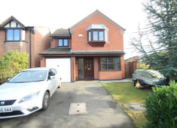 Thumbnail 4 bed detached house for sale in Mays Farm Drive, Stoney Stanton, Leicester
