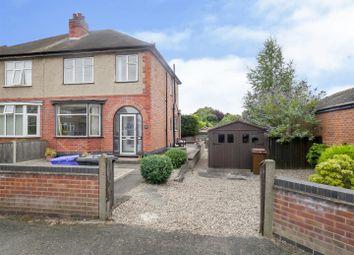 Thumbnail 3 bed semi-detached house for sale in Northfield Avenue, Long Eaton, Nottingham